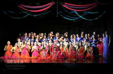 Presentación de danzas de laIndia